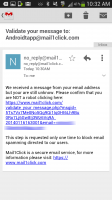 Mail1Click - Validate Message