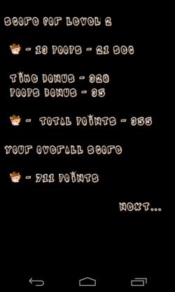 Monkey Poop Fling Multiplayer - End of level score