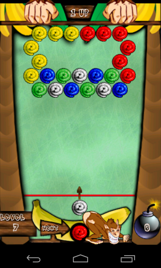 Monkey Poop Fling Multiplayer – ridiculously themed match 3 game but addictive to play