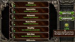 Myth Defense 2 Dark Forces - Achievements