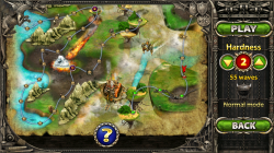 Myth Defense 2 Dark Forces - Levels in Campaign Mode