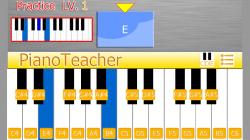 PianoTeacher - Practive Chords