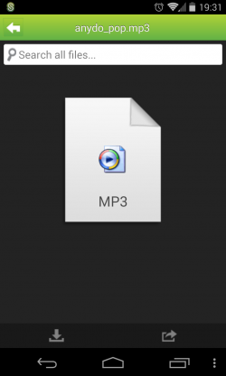 ShareFile - File types