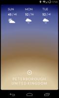 Solar - Swipe down for forecast