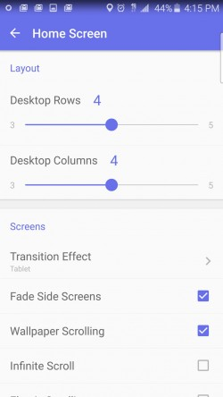 Solo Launcher - Home Screen Settings