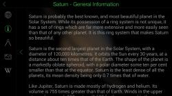 Star Walk - Planet Details