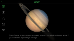 Star Walk - Planet Information