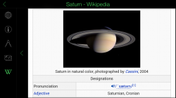 Star Walk - Planet Wikipedia Information