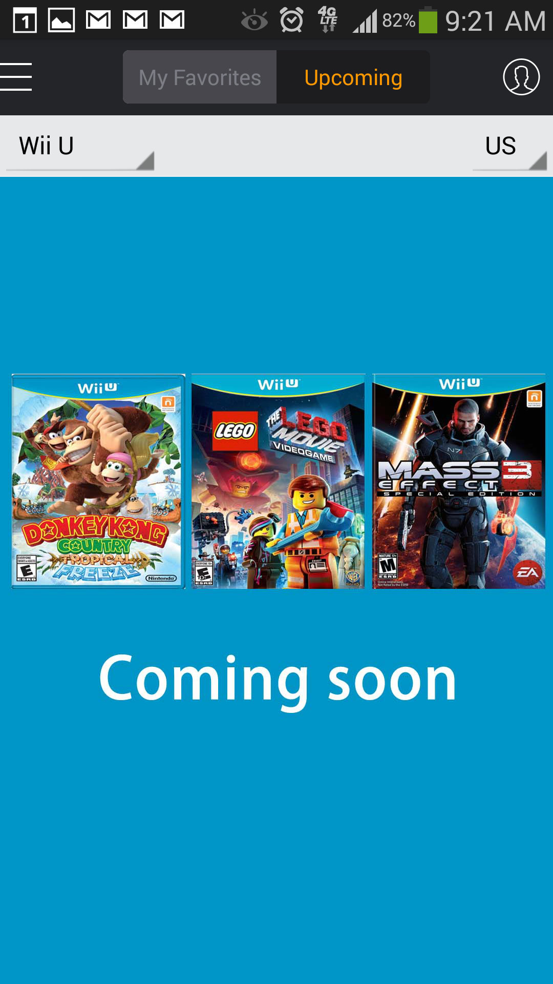Wii u games coming soon