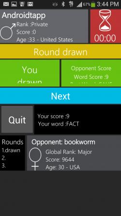 WordWarX - Draw Round