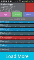WordWarX - Leaderboards