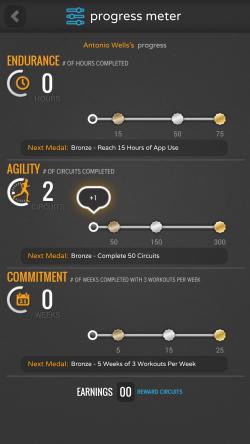 CardioSurprise - Progress Meter
