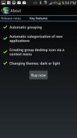 Glextor App Manager Organizer - Key Features