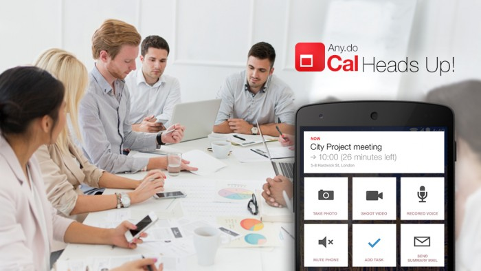 (New Features) Cal adds HeadUps features – better meeting management from the calendar