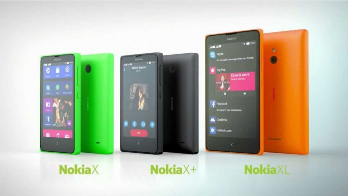 Nokia announces new Android smartphones: Nokia X, Nokia X+ and Nokia XL