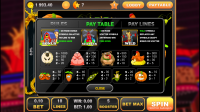 Slots Quest - Pay Table
