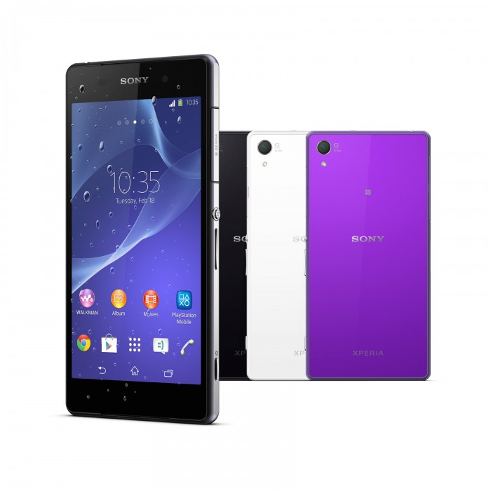 Sony Xperia Z2 – waterproof phone records 4K video!