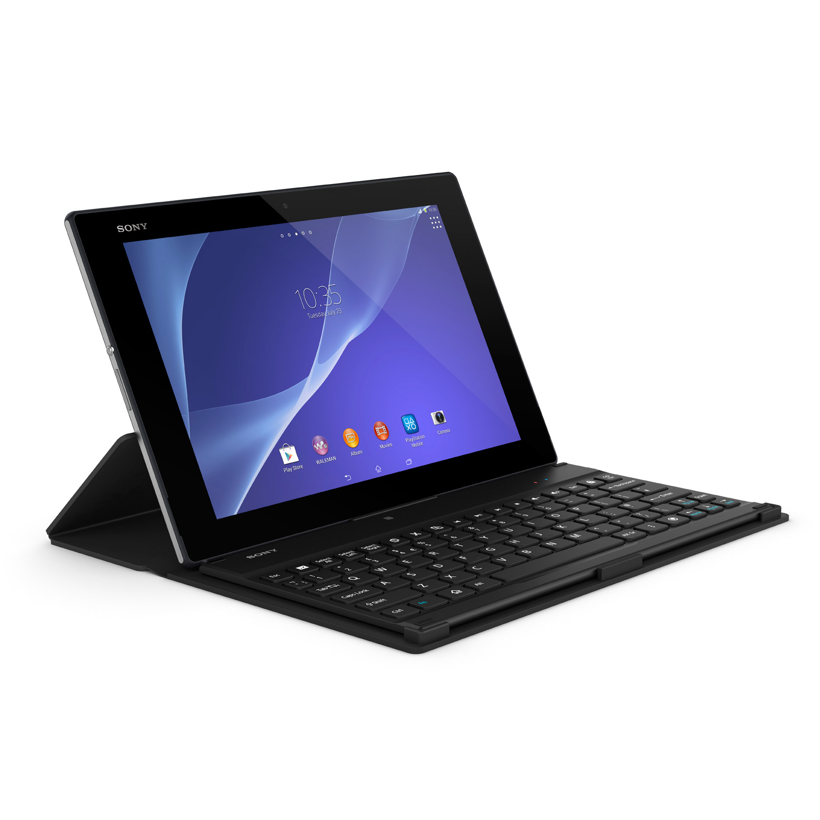 Sony Xperia Z2 Tablet - Keyboard Dock - AndroidTapp