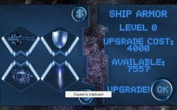 Space Shooter Ultimate - Ship Armor Upgrade