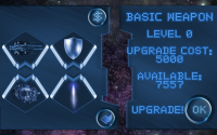 Space Shooter Ultimate - Weapons Upgrade