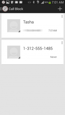 nope Call and Text Blocker - Call Block List
