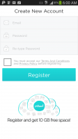 pCloud - Create Account