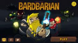Bardbarian - Start Screen