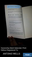 BitLit - Copyright Page Recognized