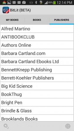 BitLit - Publishers