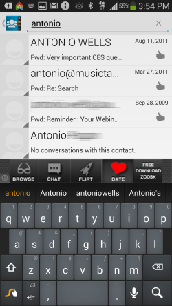 Contacts Ultra - Search