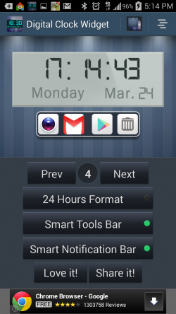 Digital Clock Widget and Tools - Gallery 4