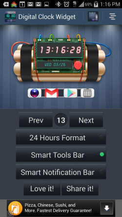 Digital Clock Widget and Tools - Gallery 6