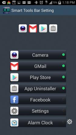 Digital Clock Widget and Tools - Smart Notification Bar Configuration