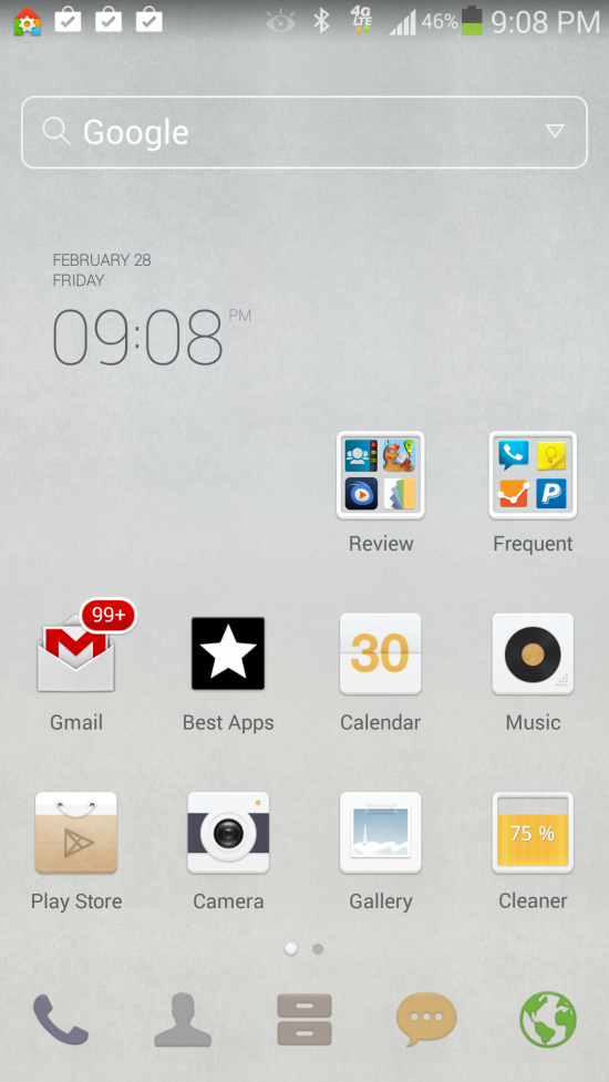 Dodol Launcher – customize your Android with gorgeous themes