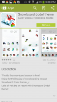 Dodol Launcher - Download Theme From Google Play