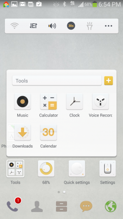 Dodol Launcher - Folders