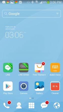Dodol Launcher - Home Screen