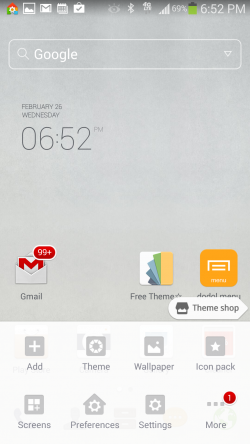 Dodol Launcher - Quick Menu