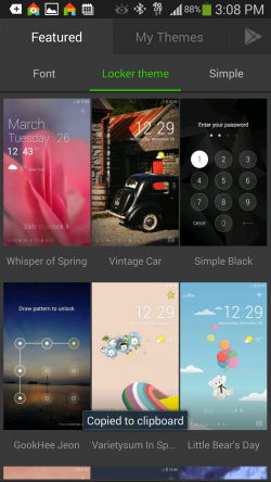 Dodol Launcher - Theme Shop For Lock Screen