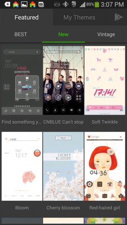 Dodol Launcher - Theme Shop New