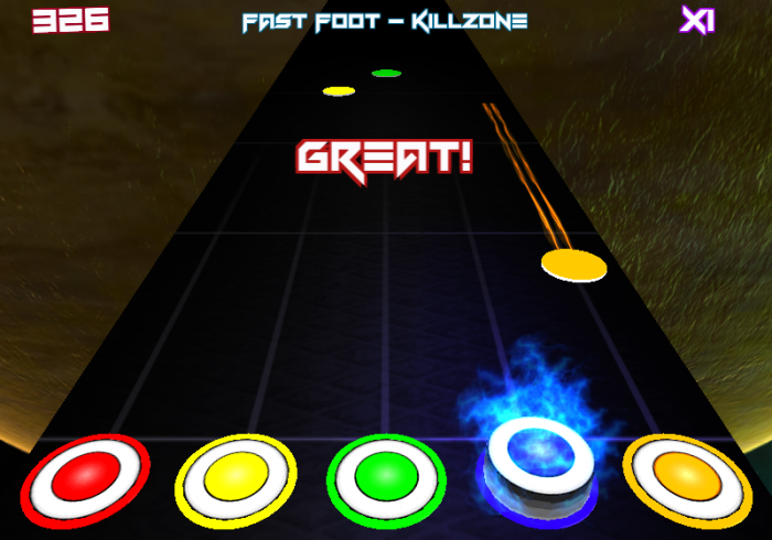 Dubstep Hero – play Guitar Hero with awesome Dubstep music