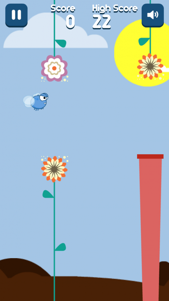 Flappy Fly – play one of the better Flappy Bird clones