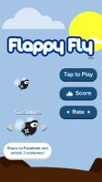 Flappy Fly - Start Screen