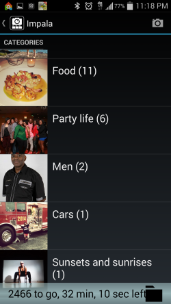 Impala - Categories