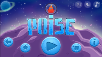 POiSE Space Adventure - Start Screen