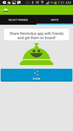 Remindus - Invite Friends