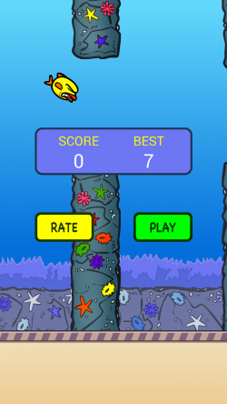Splashy Fin the Clumsy Fish - Gameplay 1