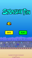 Splashy Fin the Clumsy Fish - Start Screen