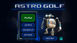 Astro Golf - Start Screen