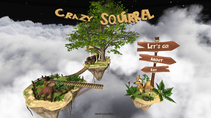 Crazy Flying Squirrel – a zany game with realistic flight experience